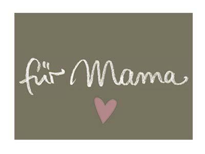 Kärtchen A8 für Mama
