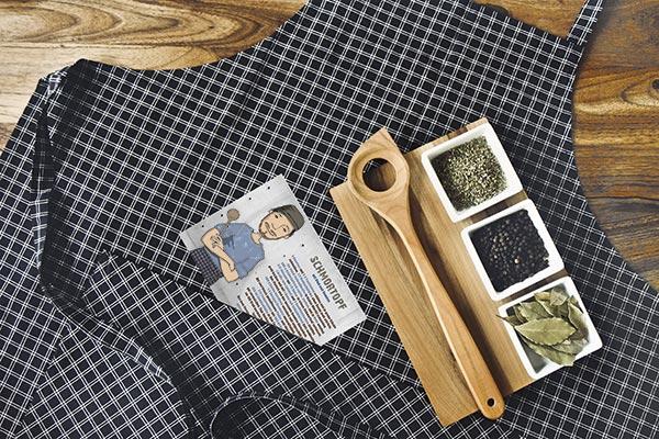 Männerhaushalt mit Holz